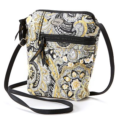 Donna Sharp Penny Paisley Quilted Cross-Body Bag