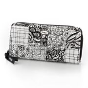 Donna Sharp Quilted Patchwork Quilted Wristlet