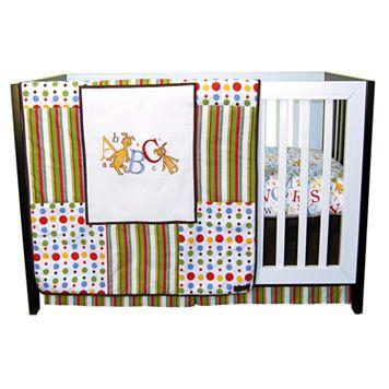Dr. Seuss ABC 3-pc. Crib Bedding Set by Trend Lab