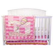 Dr. Seuss Oh The Places You'll Go! Pink 3 pc Crib Bedding Set by Trend Lab