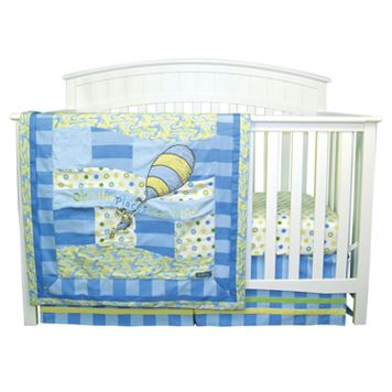 Dr. Seuss Oh The Places You'll Go! Blue 3-pc. Crib Bedding Set by Trend Lab