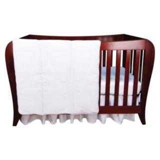 Trend Lab White Pique 3-pc. Crib Bedding Set