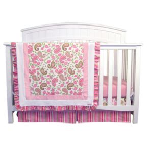 Trend Lab Paisley Park 3-pc. Crib Bedding Set