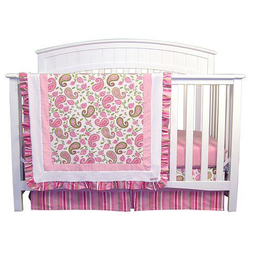 Trend Lab Paisley Park 3 Pc Crib Bedding Set