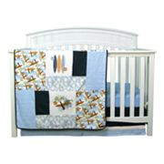 Trend Lab Surf's Up 3-pc. Crib Bedding Set