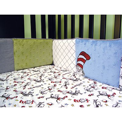 Dr. Seuss The Cat in the Hat Crib Bumper by Trend Lab