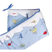 Dr. Seuss One Fish, Two Fish, Red Fish, Blue Fish Crib Bumper by Trend Lab
