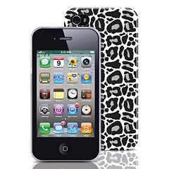 Merkury Innovations iPhone 4/4S Leopard Hard Cell Phone Case