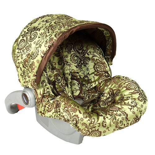 Baby Bella Maya Caramel Apple Swirl Infant Car Seat Cover