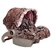 Baby Bella Maya Pink Champagne Infant Car Seat Cover