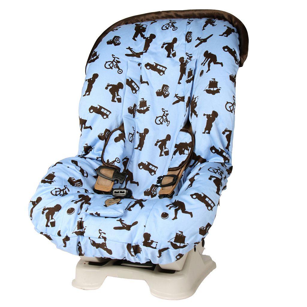 Baby Bella Maya Little Boy Blue Toddler Car Seat Cover
