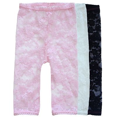 Baby Bella Maya 3-pk. Lacy Leggings - Baby