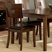 HomeVance 2-pc. Hole Back Dining Chair Set