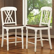 HomeVance 2-pc. Casual Countryside Counter Chair Set