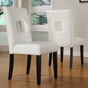 HomeVance 2-pc. Square Back Side Chair Set