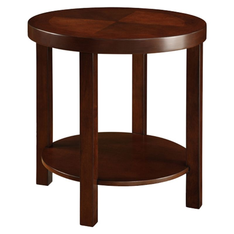 HomeVance End Table, Brown