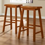 HomeVance 2-pc. Bar Stool Set