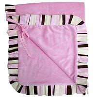Baby Bella Maya Pixie Stix Plush Stroller Blanket
