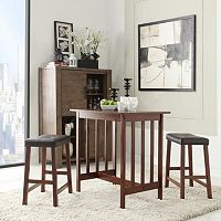 HomeVance 3 pc Breakfast Table Set