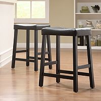 HomeVance 2 pc Counter Stool Set
