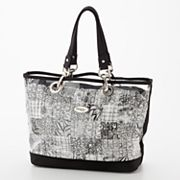 Donna Sharp Zoe Quilted Patchwork Multifunction Tote