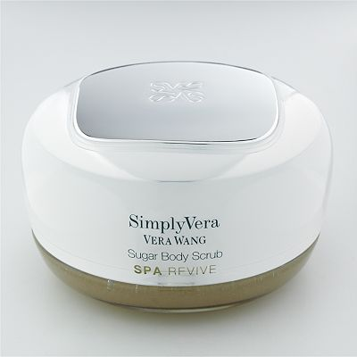 Simply Vera Vera Wang Spa Revive Lime Basil and Bergamot Sugar Body Scrub