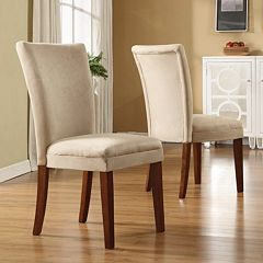 HomeVance 2 pc Parsons Side Chair Set