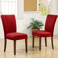 HomeVance 2 pc Parsons Dining Chair Set