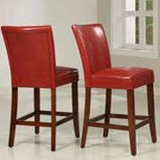 HomeVance 2-pc. Parsons Counter Chair Set