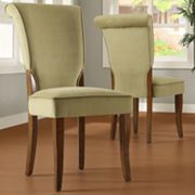 HomeVance 2-pc. Velvet Side Chair Set