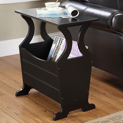 HomeVance Magazine End Table