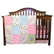 Trend Lab Cupcake 3-pc. Crib Bedding Set