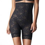 Bali Lace 'N Smooth Firm Control Hi-Waist Thigh Slimmer - 8L11