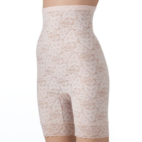 Bali Lace 'N Smooth Firm Control High-Waist Thigh Slimmer 8L11 - Women's