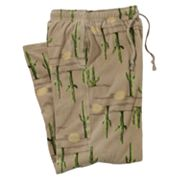 Croft and Barrow Cactus Microfleece Lounge Pants