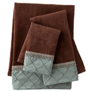 Sherry Kline Pleated Diamond 3-pc. Decorative Towel Set