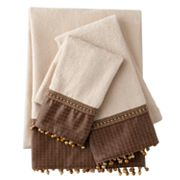 Sherry Kline Basket-Weave 3-pc. Decorative Towel Set