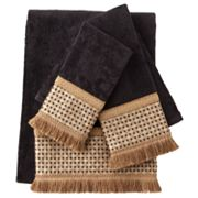 Sherry Kline Chenille Dots 3-pc. Decorative Towel Set