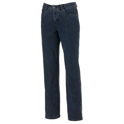 Croft and Barrow Slimming Straight-Leg Jeans
