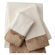 Sherry Kline Pleated 3-pc. Decorative Towel Set