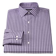 Marc Anthony Slim-Fit Striped Spread-Collar Dress Shirt
