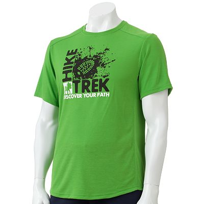 Tek Gear Hike Trek Performance Tee