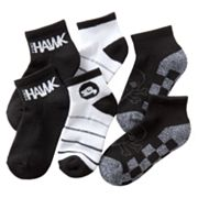 Tony Hawk 3-pk. Checker Skull 1/4-Crew Socks