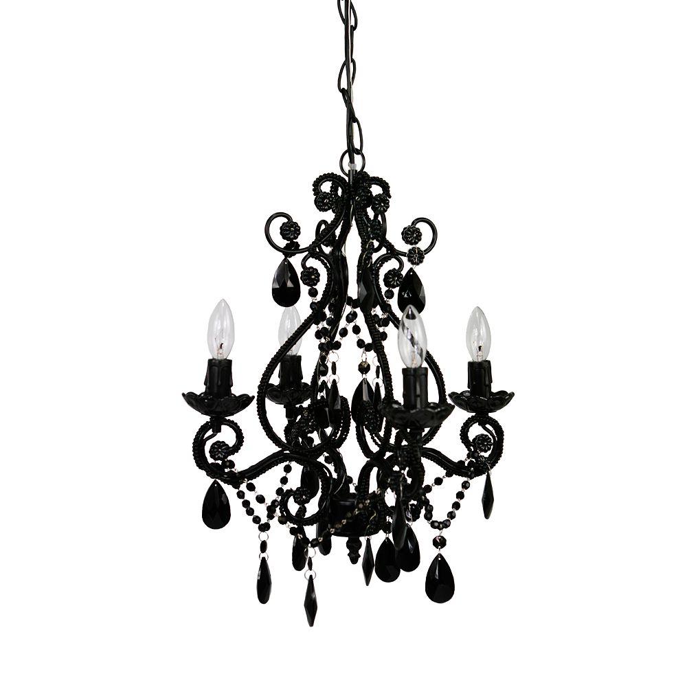 tadpoles 4 bulb chandelier