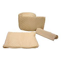 Tadpoles Dimple Velour Porta-Crib Cradle Set