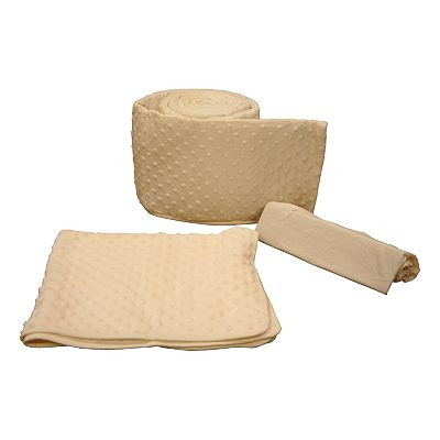 Tadpoles Dimple Velour Porta-Crib Cradle Set