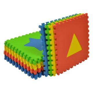 Tadpoles Shapes Play Mat Set