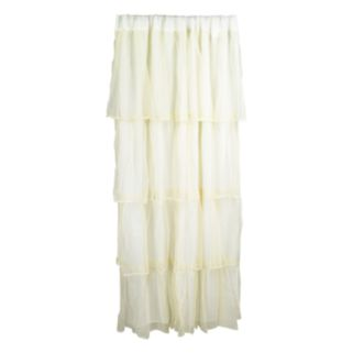 Tadpoles Tulle Tiered Window Curtain
