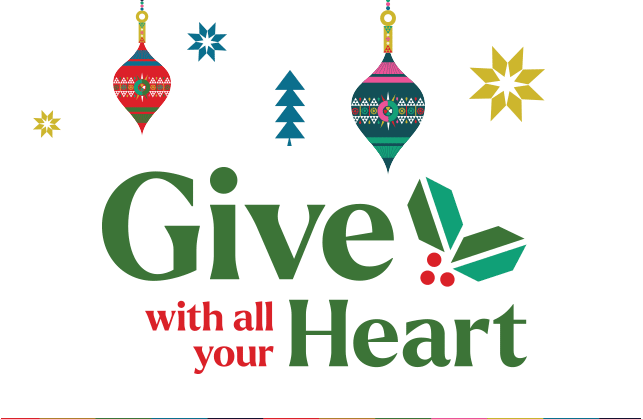 Give with all your Heart