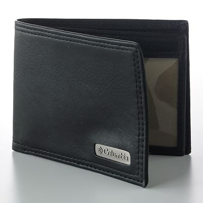 Columbia Sportswear Company Extra-Capacity Leather Slimfold Wallet